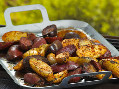 Grilled Potatoes? That's Right - Get Your Grill On!