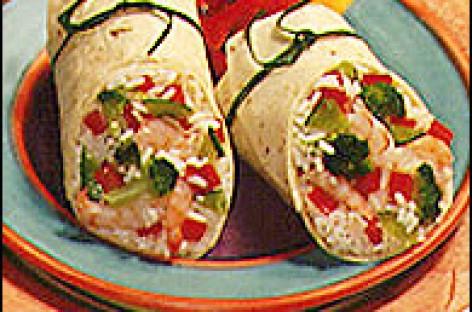 Oriental Stir-Fry Wrap