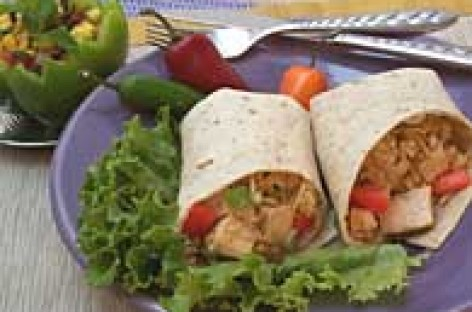 Fried Rice Wraps