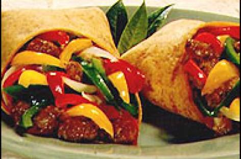 Italian Sausage & Pepper Wrap