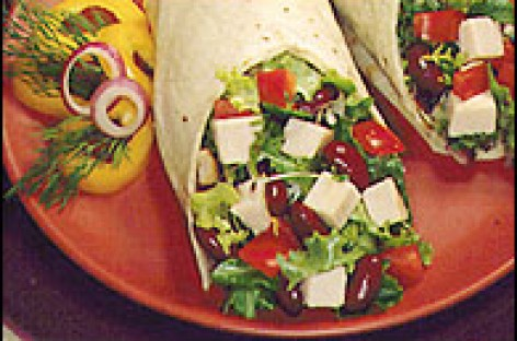 Turkey-Avocado Wrap