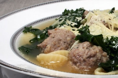Turkey Italian Wedding Soup