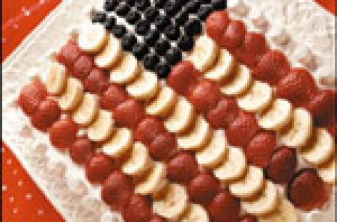 Royal American Flag Cake